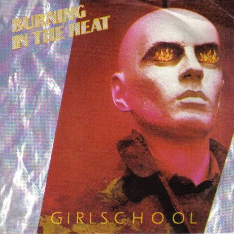Girlschool - Burning in the Heat