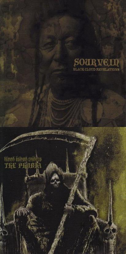 Sourvein / Blood Island Raiders - Black Cloud Revelations / The Phobia