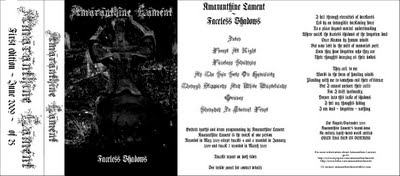Amaranthine Lament - Faceless Shadows
