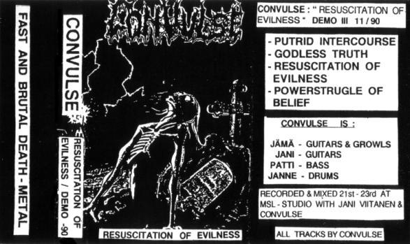 Convulse - Resuscitation of Evilness