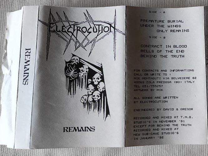 Electrocution - Remains