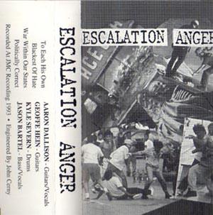 Escalation Anger - Escalation Anger