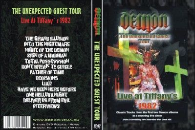 Demon - The Unexpected Guest Tour - Live at Tiffany's 1982