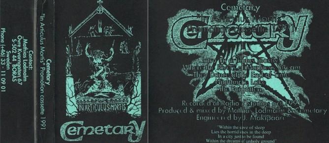 Cemetary - In Articulus Mortis
