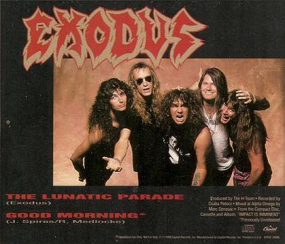 Exodus - The Lunatic Parade