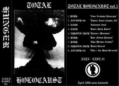 Навь / Aphoom Zhah / Kruk / Легион666 - Total Holocaust Vol. 1