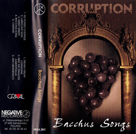 Corruption - Bacchus Songs
