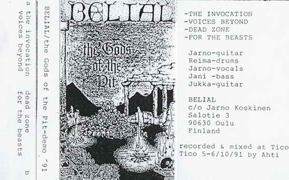 Belial - The Gods of the Pit