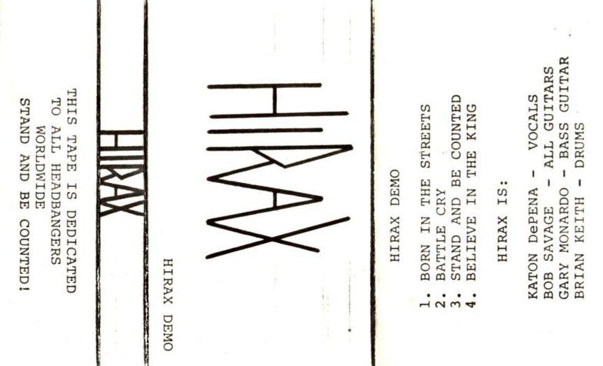 Hirax - Demo 1984