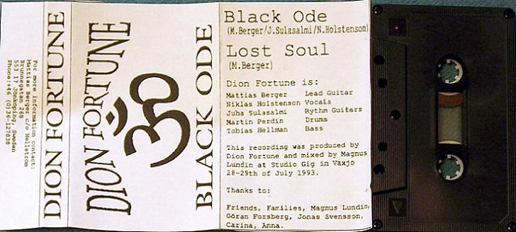 Dion Fortune - Black Ode
