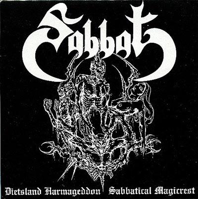 Sabbat - Dietsland Harmageddon - Sabbatical Magicrest