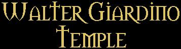 Walter Giardino Temple - Logo