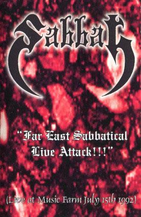 Sabbat - Far East Sabbatical Live Attack!!!