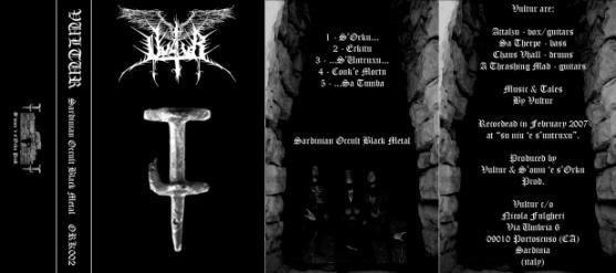 Vultur - Sardinian Occult Black Metal