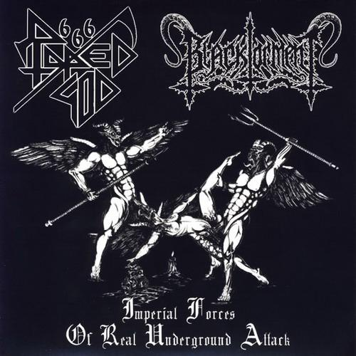 Black Torment / Raped God 666 - Imperial Forces of Real Underground Attack