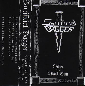 Sacrificial Dagger - Order of the Black Sun