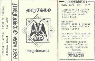 <br />Mefisto - Megalomania