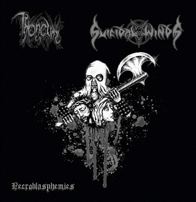 Suicidal Winds / Throneum - Necroblasphemies