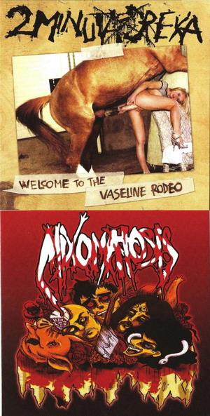 Mixomatosis - Untitled / Welcome to the Vaseline Rodeo