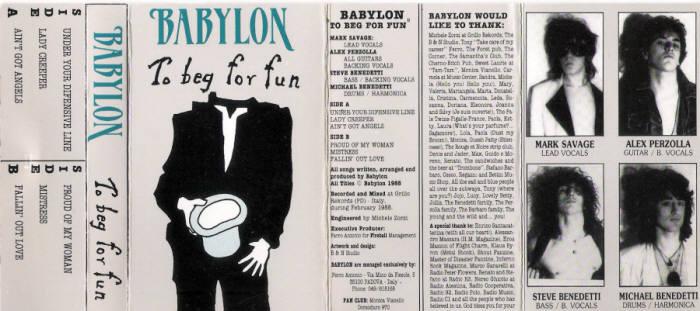 Babylon - To Beg for Fun