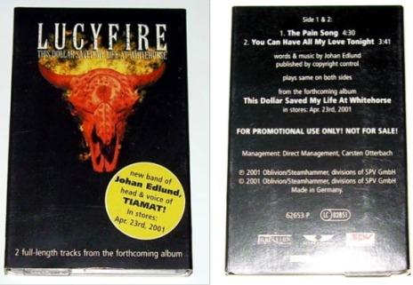 LucyFire - 2-track Cassette single