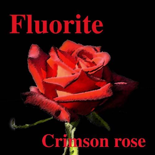 Fluorite - Crimson Rose
