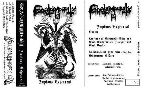 Goatoimpurity - Impious Rehearsal