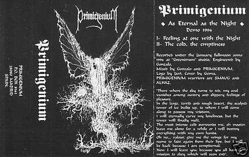 Primigenium - As Eternal as the Night