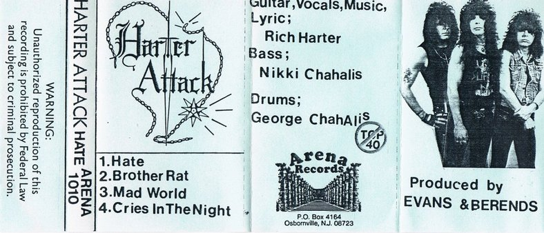 Harter Attack - Hate