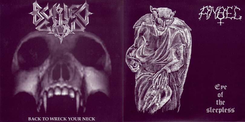 Anael / Buried God - Eye of the Sleepless / Back to Wreck Your Neck
