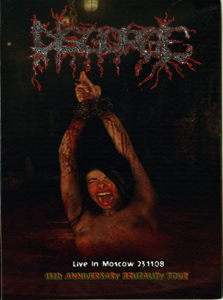 Disgorge - Live in Moscow 23.11.08