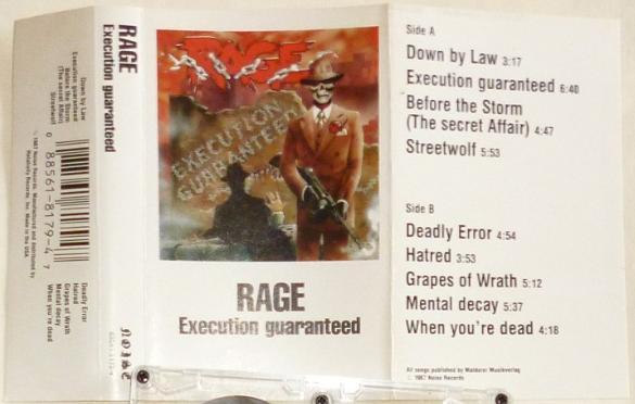 Rage - Execution Guaranteed