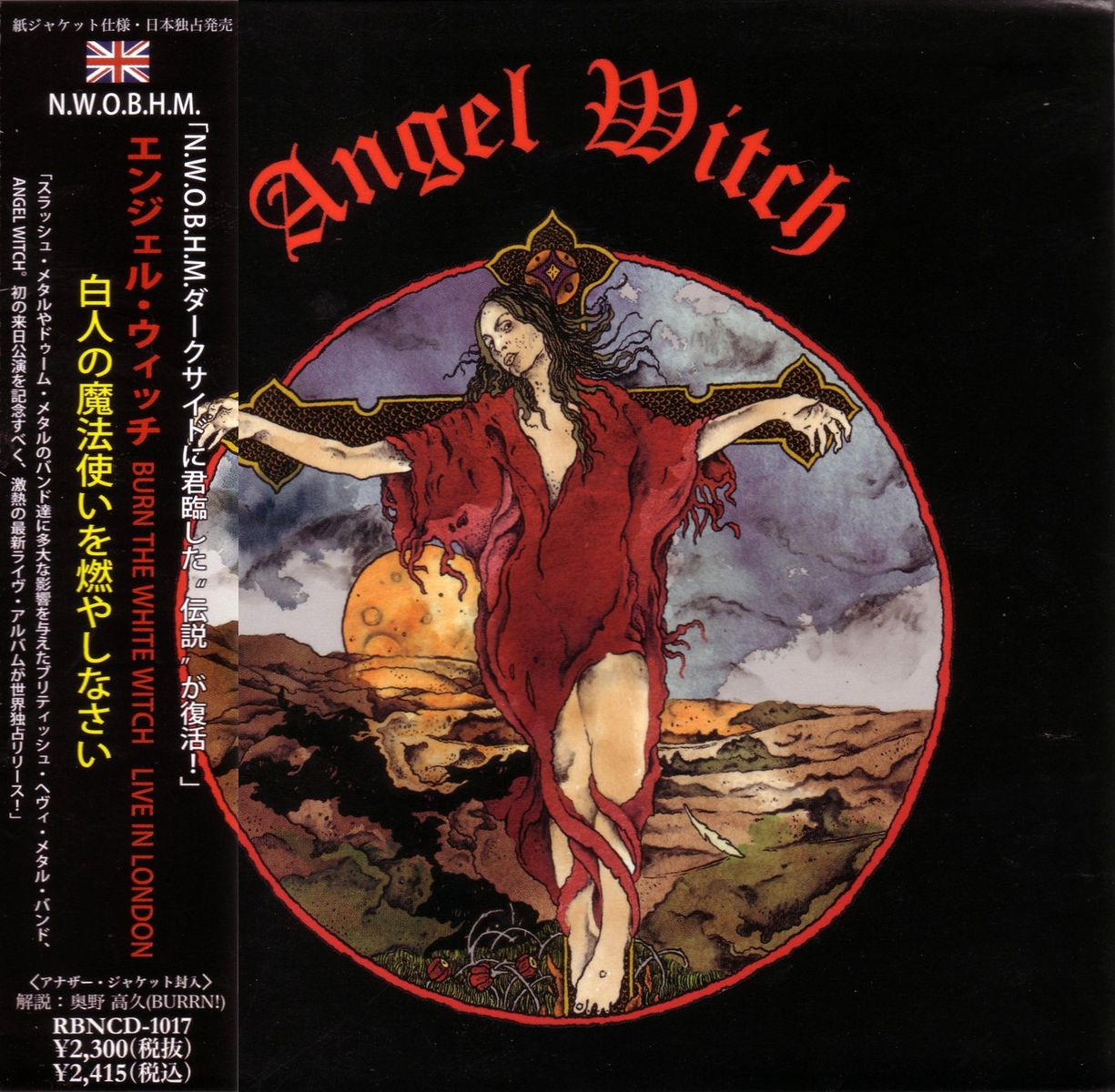 Angel Witch - Burn the White Witch - Live in London