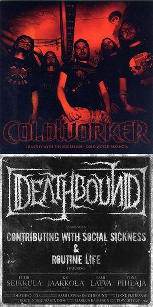 Deathbound / Coldworker - Coldworker / Deathbound