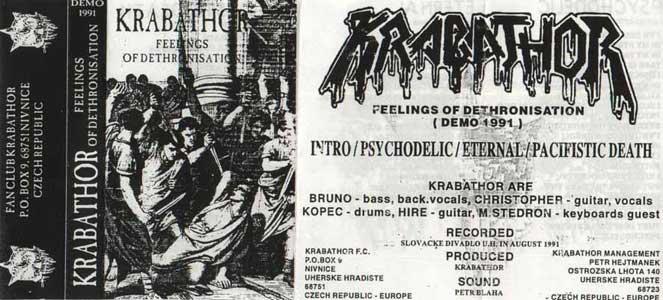 Krabathor - Feelings of Dethronisation