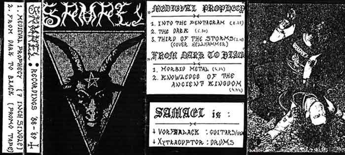 Samael - Recordings '88-'89