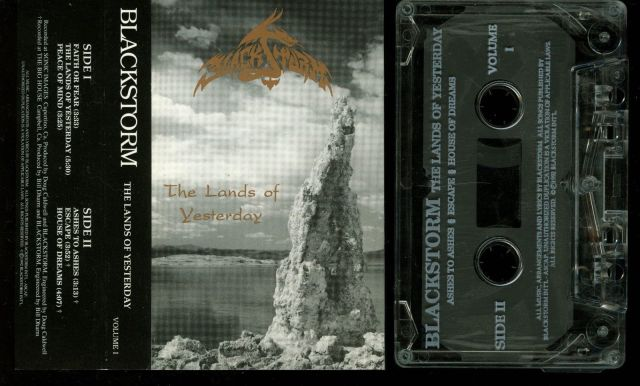 Blackstorm - The Lands of Yesterday