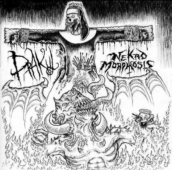 Drakul / Nekro Morphosis - Split from the Clit