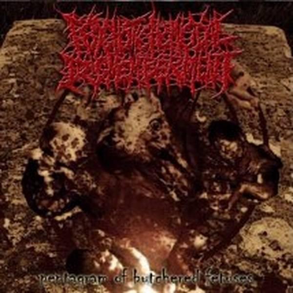 Psychotic Homicidal Dismemberment - Pentagram of Butchered Fetuses