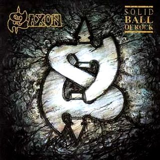 Saxon — Solid Ball of Rock (1990)