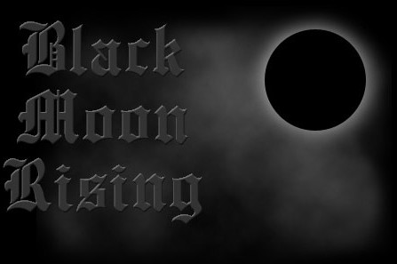 Black Moon Rising - Logo