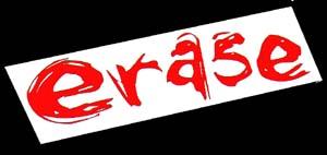 Erase - Logo
