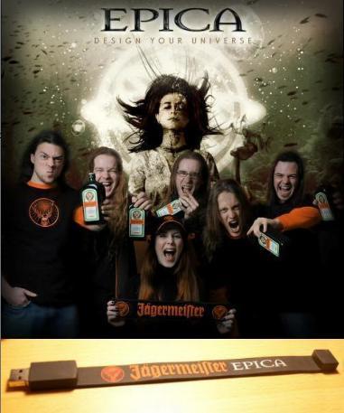 Epica - Epica & Jägermeister Memory stick