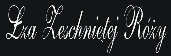 Łza Zeschniętej Róży - Logo