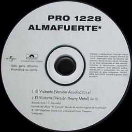 Almafuerte - El Visitante Promo