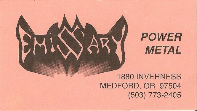 Emissary - 1993 Demo