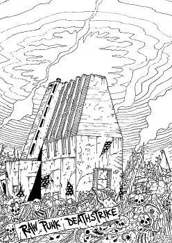 Ydintuho - Raw Punk Deathstrike Over Ykän Pub 27/6/09