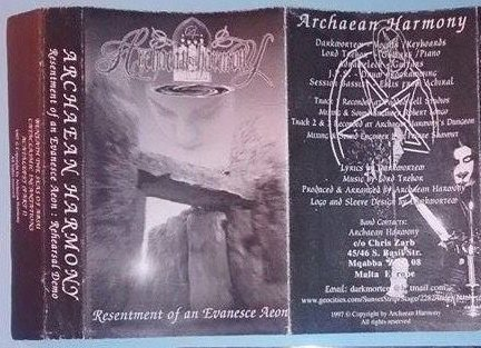 Archaean Harmony - Resentment of an Evanesce Aeon