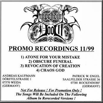 Impending Doom - Promo Recordings 11/99