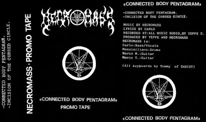 Necromass - Connected Body Pentagram